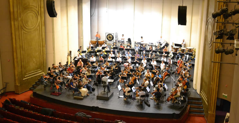 Grada orquesta sinfonica